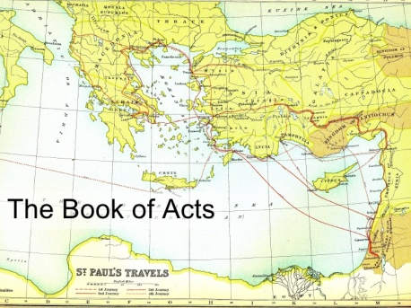 review questions for book of acts